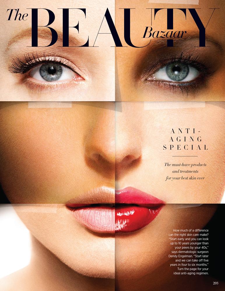 Harper S Bazaar The Beauty Bazaar Michael David Adams Creative Advertising Photographer And Director